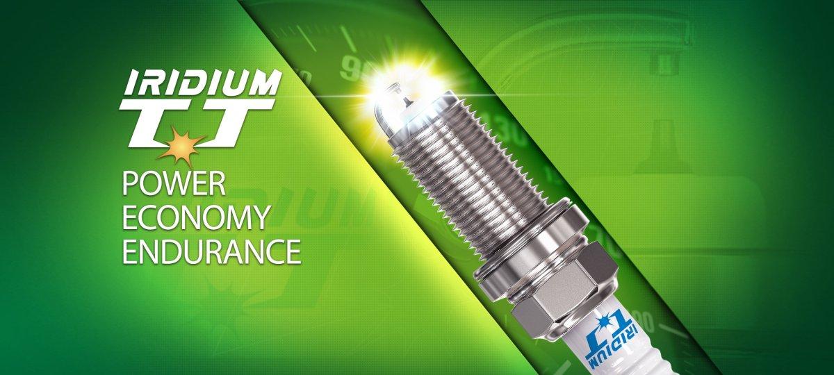 Denso,Irisium TT, spark plug,fuel economy,power