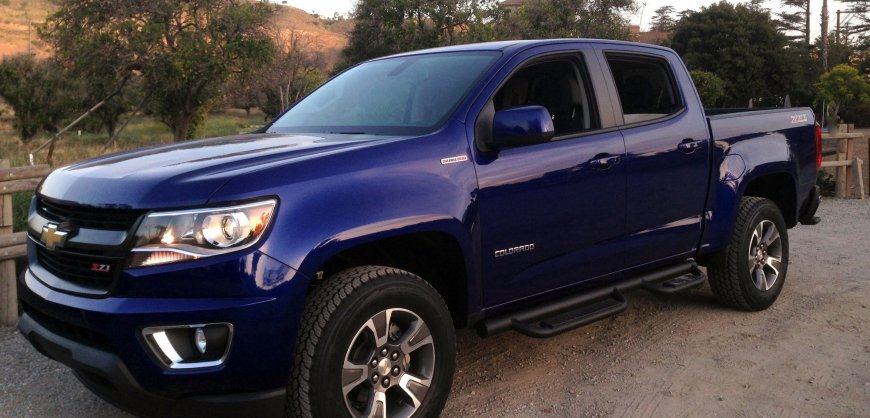 2016 Chevrolet Colorado Diesel, mpg, fuel economy,test drive