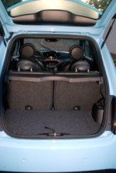 2016 Fiat 500e, storage