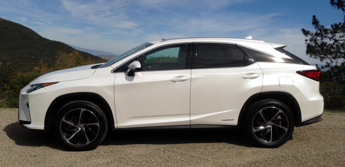 2016 RX, 450h FWD,fuel economy,mpg,hybrid