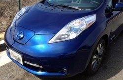2016 Nissan Leaf SL, aerodynamics