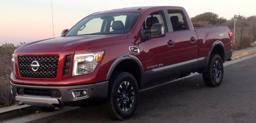 road test 2016 nissan titan xd pro 4x. Black Bedroom Furniture Sets. Home Design Ideas