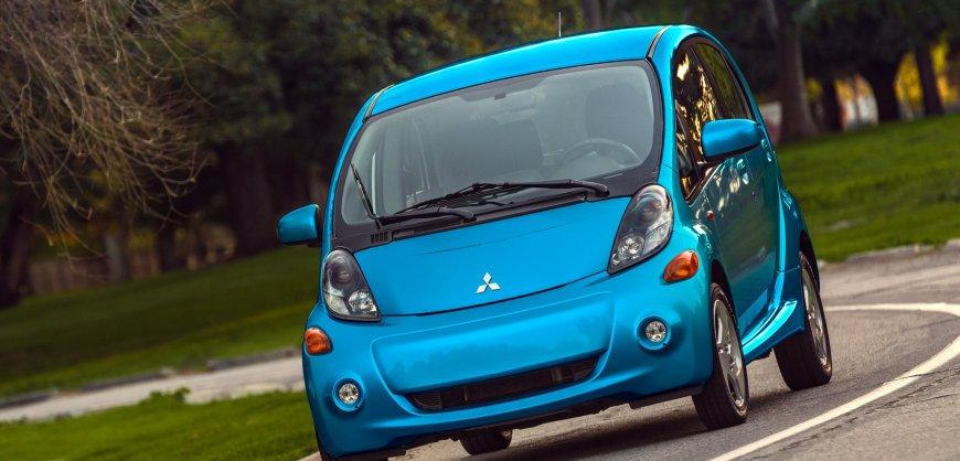 2016 Mitsubishi i-MiEV, electric car, EV