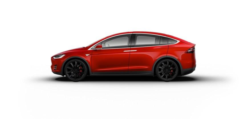 Tesla Model X, autonomous car