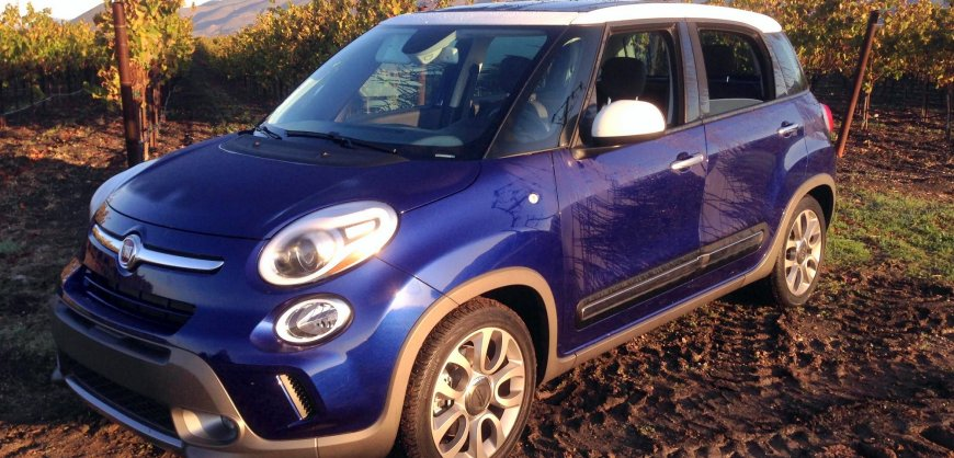 2016 Fiat 500L, mp, fuel economy