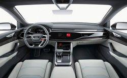 Audi Q8 concept PHEV,interior