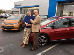 2017 Chevrolet Bolt, first Bolt