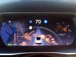 Tesla Model X,interior, dashboard