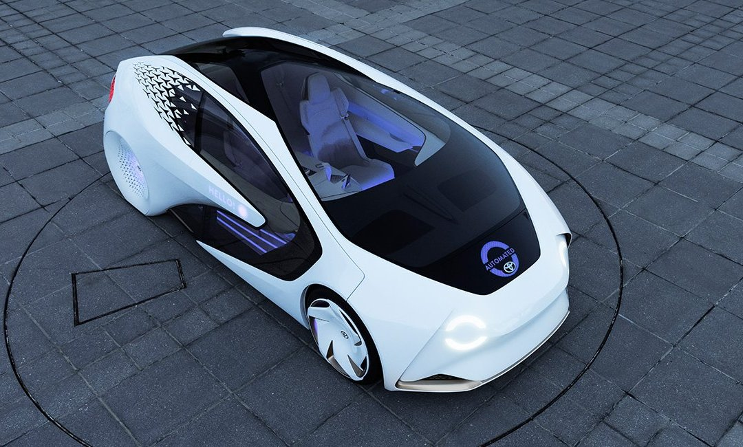 News: Toyota's Future Vision: The Concept-i