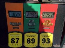 fuel grades