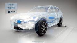 Volvo Mild hybrid, 48 volts