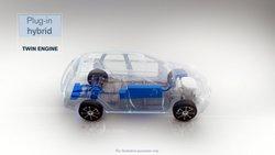 Volvo Plug-in hybrid, Twin Engine