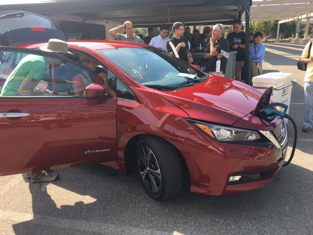 NDEW Week, Nissan Leaf