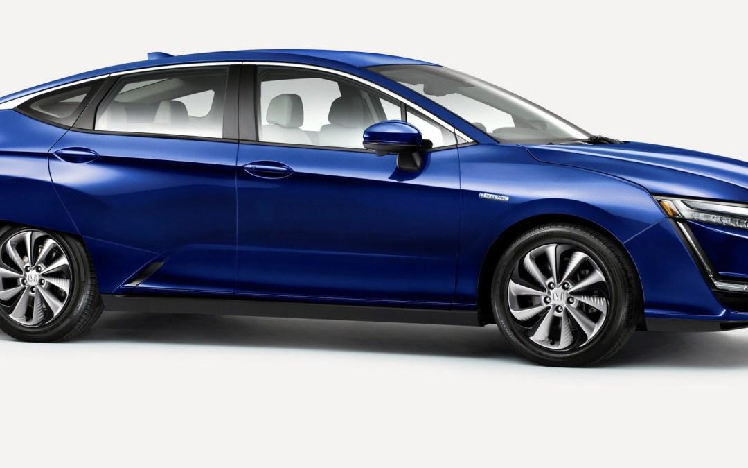Flash Drive: 2017 Honda Clarity Electric