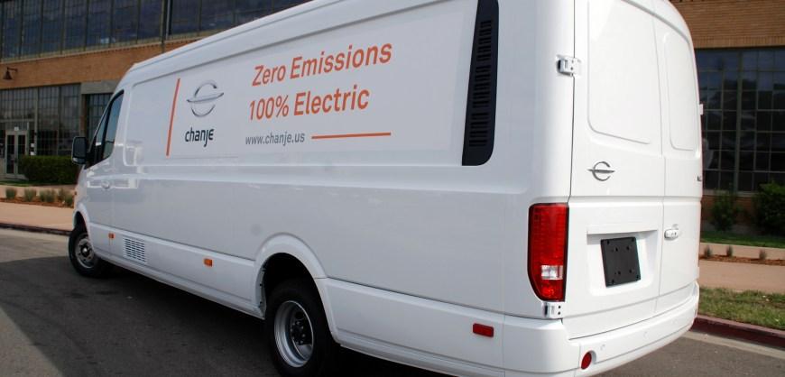Chanje V8070 Electric Van