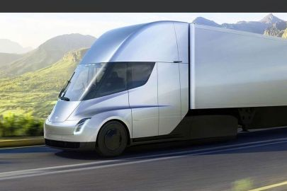 Two Tesla Semi Trucks