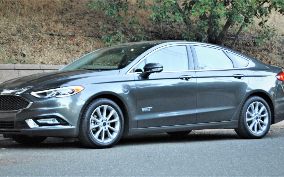 Flash Drive: 2017 Ford Fusion Energi