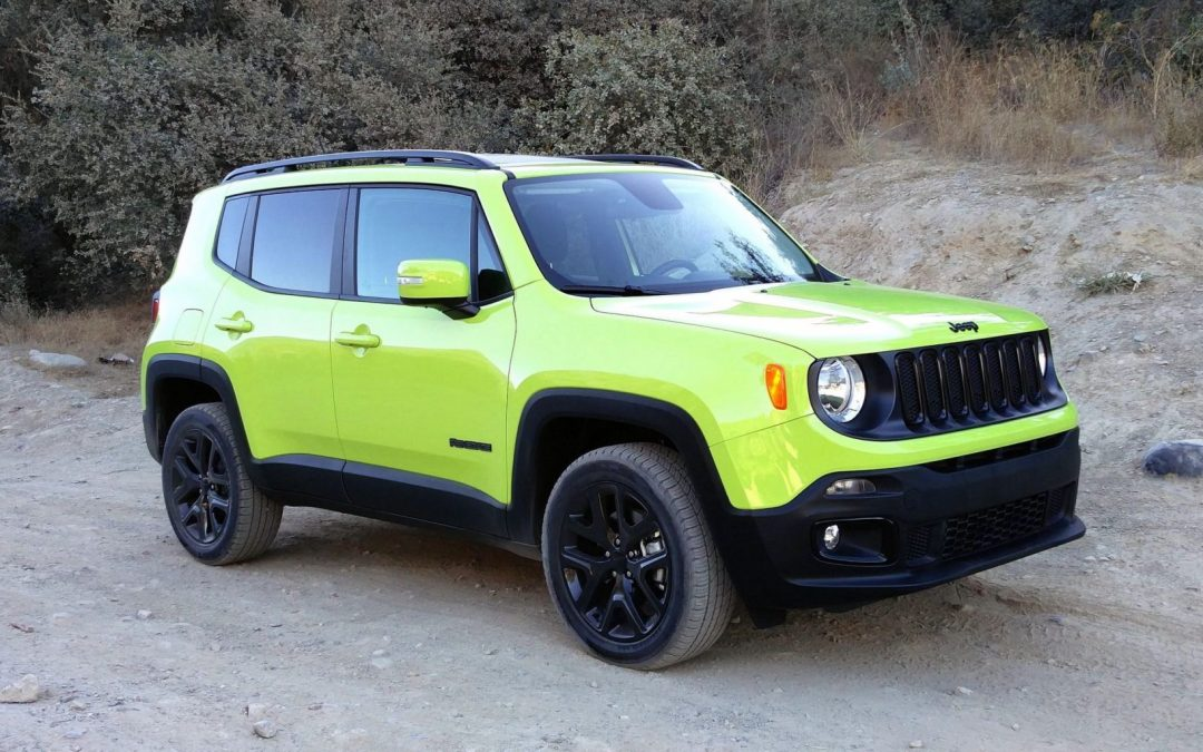 Road Test: 2017 Jeep Renegade Altitude 4X4