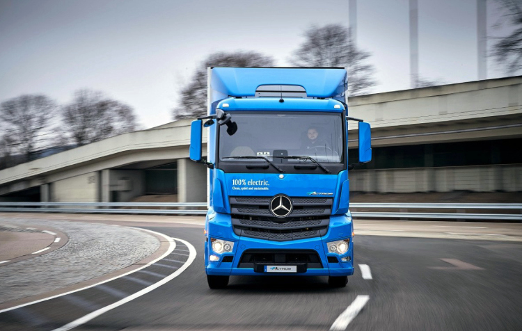 Mercedes-Benz eActros Electric Truck