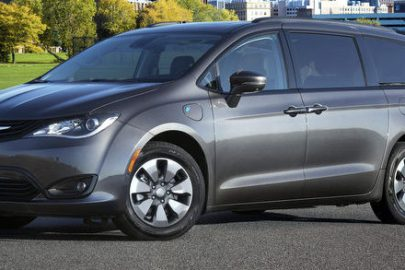 2018 Chrysler Pacifica Hybrid with the Hybrid
