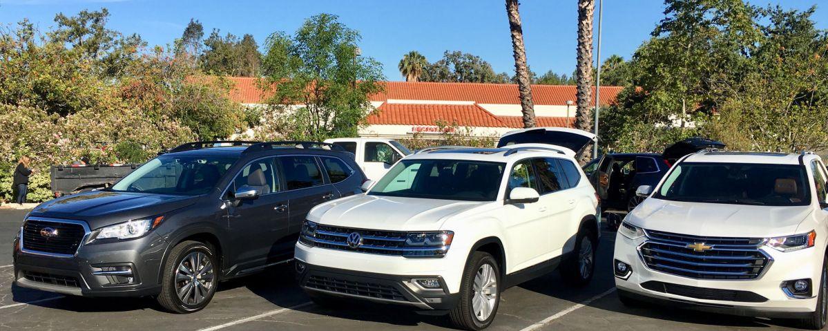 Three-tow SUV comparison