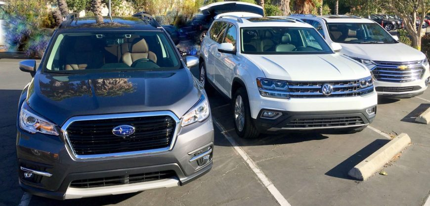 3-row SUV AWD Comparison