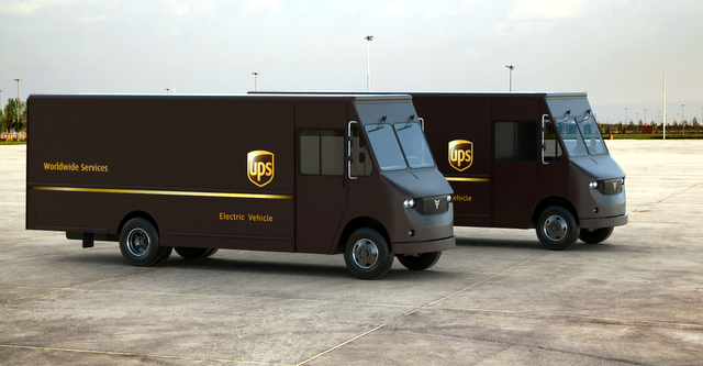 UPS-Thor Electric Delivery Trucks