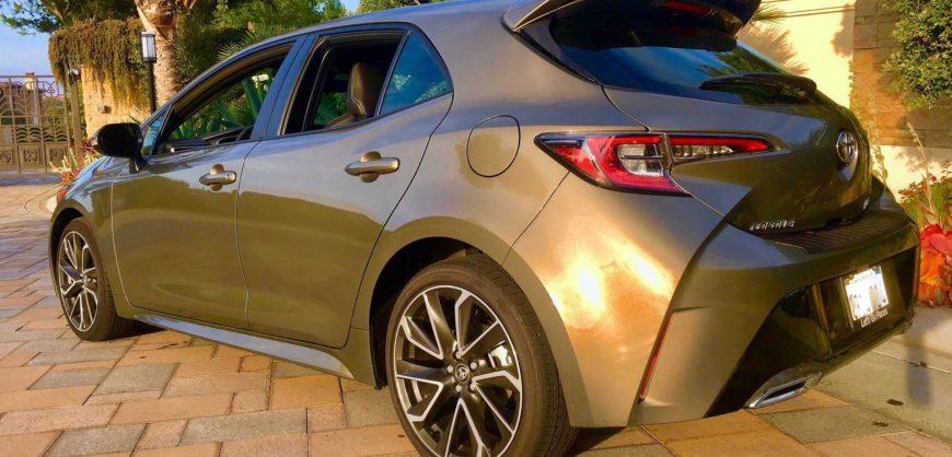 Road Test 2019 Toyota Corolla Hatchback Clean Fleet Report