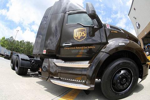 UPS electric, NCG trucks