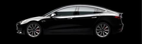 Tesla Model 3, black