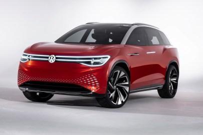 Volkswagen I.D. ROOMZZ concept car at Shanghai Auto Show