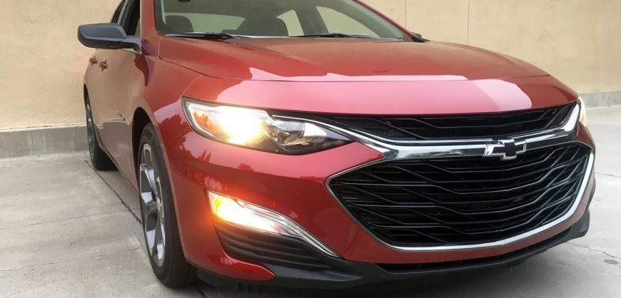 Road Test 2019 Chevrolet Malibu Rs Clean Fleet Report