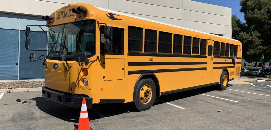 Cummins-powered electric school bus