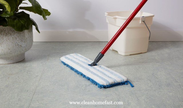 How To Clean Linoleum Floors With Ground In Dirt?  Clean Home Fast