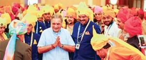 Welcoming HH Maharaj Gaj Singhji of Jodhpur