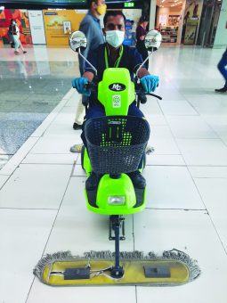 IPC Mopping Scooty CT 3900