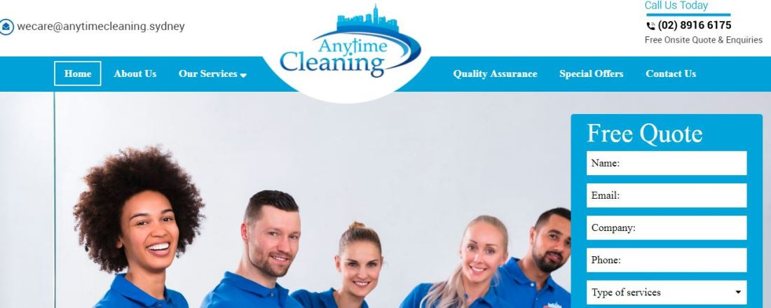Best Options for Office Cleaning in Sydney - Anytime Cleaning Services Sydney