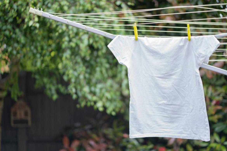 Phơi nắng là cách tẩy mốc quần áo hiệu quả