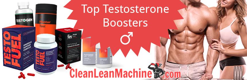 Top Testosterone Boosters - TestoFuel, Prime Male, Testogen, Hunter Test, Performance Lab Sport T-booster