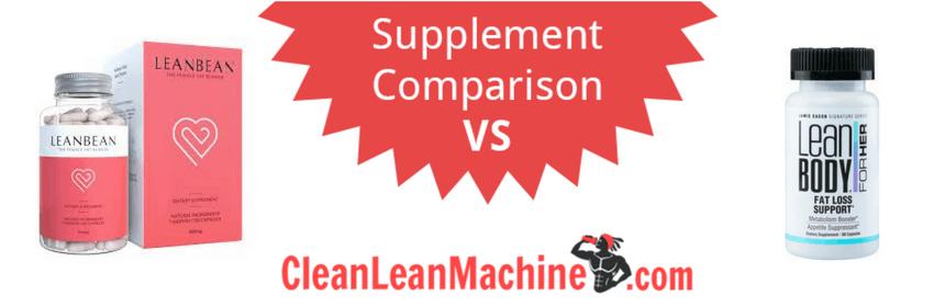 lean bean vs jamie eason fat burn support, lean bean vs jamie eason fat burn support review, compare female fat burners, female fat burners, best female fat burners