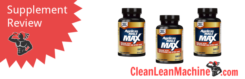 ageless male max review, ageless male max, best testosterone boosters