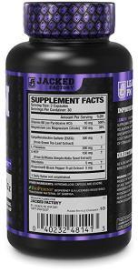 Jacked Factory Lean PM Ingredients