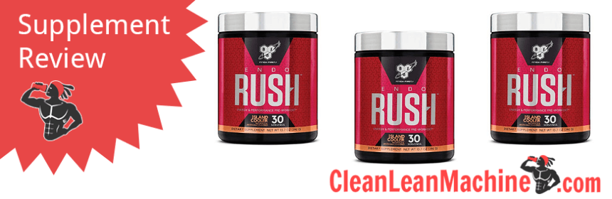 BSN Endorush Pre Workout Review