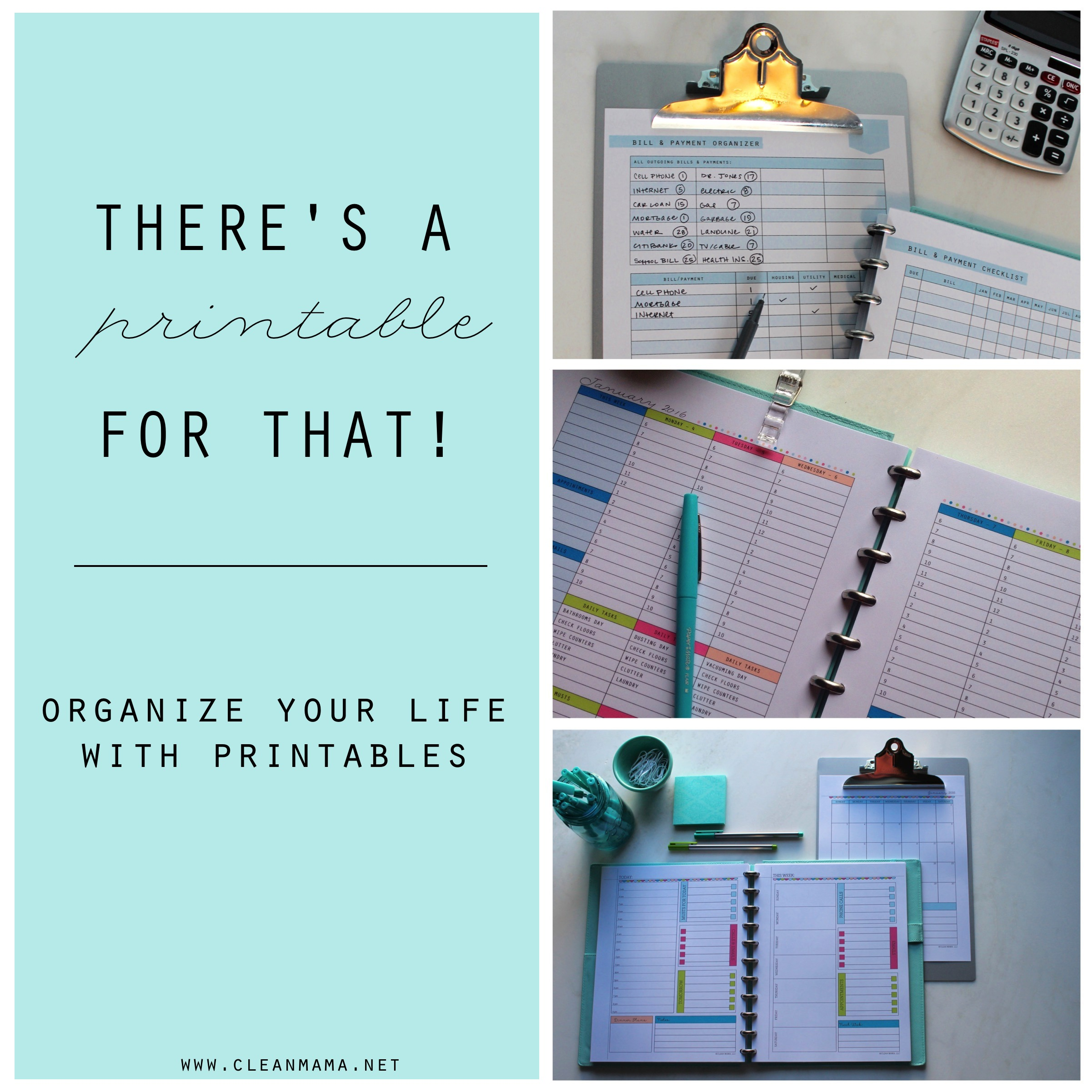 There S A Printable For That Organize Your Life With Printables