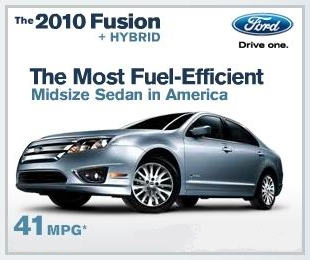 2010 Ford Fusion Ad