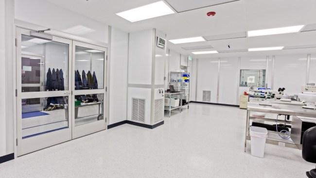 Pharmaceutical clean room