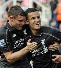 James Milner + Philippe Coutinho