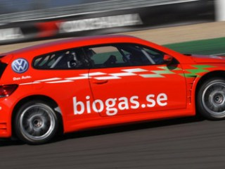 biogas-powered vehicle