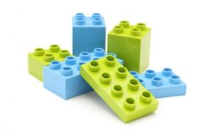 Building toy bricks