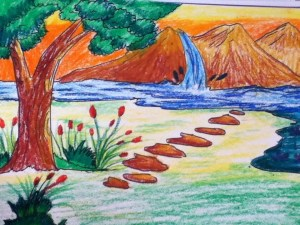 nature-painting-kids